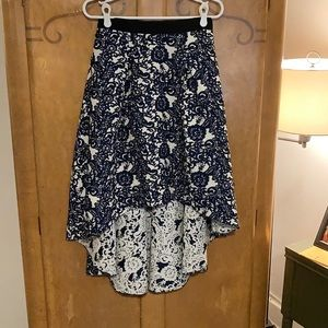 Anthropologie brocade skirt